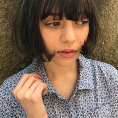 色気 ボブ 透明感 リラックス ヘアスタイルや髪型の写真・画像