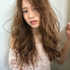 アンニュイ 前髪あり かき上げ前髪 ロング ヘアスタイルや髪型の写真・画像