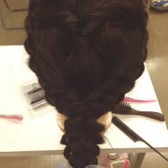 ヘアアレンジ コンサバ ロング モテ髪 ヘアスタイルや髪型の写真・画像