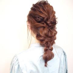 ガーリー 女子会 ロング ヘアアレンジ ヘアスタイルや髪型の写真・画像