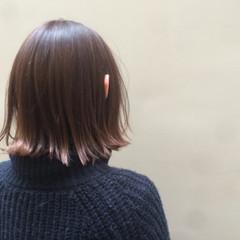 ワンレングス ストリート グラデーションカラー ピンク ヘアスタイルや髪型の写真・画像