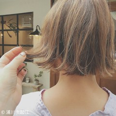 女子力 ボブ デート 色気 ヘアスタイルや髪型の写真・画像