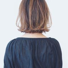 フェミニン バレイヤージュ グラデーションカラー 外国人風カラー ヘアスタイルや髪型の写真・画像