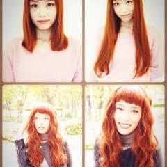 ロング エクステ ヘアスタイルや髪型の写真・画像