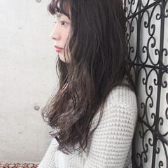 透明感 ロング アンニュイ ニュアンス ヘアスタイルや髪型の写真・画像