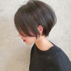 ショートボブ ナチュラル グレージュ ボブ ヘアスタイルや髪型の写真・画像