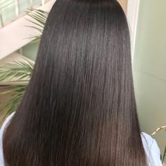 ロング 最新トリートメント ナチュラル 髪質改善 ヘアスタイルや髪型の写真・画像