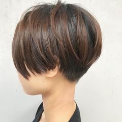 ベリーショート 小顔ショート 刈り上げ 刈り上げショート ヘアスタイルや髪型の写真・画像