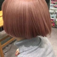 ボブ ショート ガーリー かわいい ヘアスタイルや髪型の写真・画像