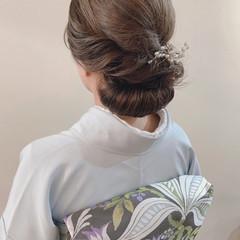 アンニュイほつれヘア 卒業式 ヘアアレンジ ロング ヘアスタイルや髪型の写真・画像
