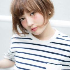 前髪あり グラデーションカラー 外国人風 ハイライト ヘアスタイルや髪型の写真・画像