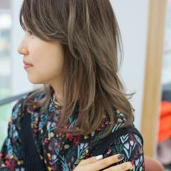 フェミニン ロング オルチャン ヘアスタイルや髪型の写真・画像