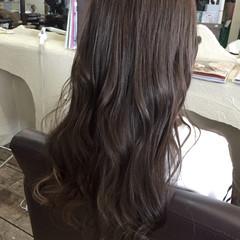 ハイライト ロング グラデーションカラー 冬 ヘアスタイルや髪型の写真・画像