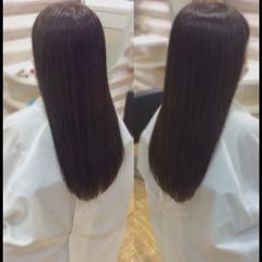 ナチュラル ロング ロングヘア 髪質改善 ヘアスタイルや髪型の写真・画像
