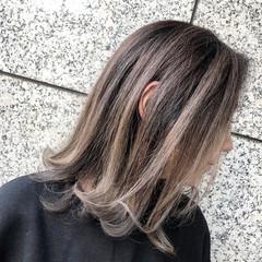 ショートボブ ウルフカット インナーカラー ナチュラル ヘアスタイルや髪型の写真・画像