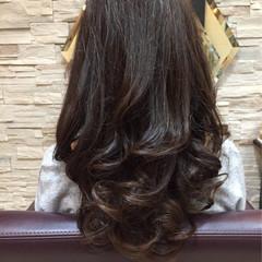 大人女子 ロング サラサラ 艶髪 ヘアスタイルや髪型の写真・画像
