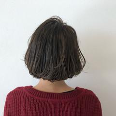 ボブ 外ハネ 色気 大人女子 ヘアスタイルや髪型の写真・画像