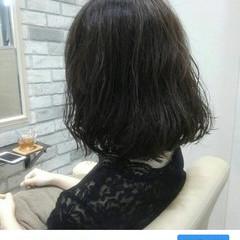 前髪あり ルーズ 冬 アッシュ ヘアスタイルや髪型の写真・画像