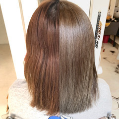 髪質改善カラー 外国人風カラー ナチュラル ミディアム ヘアスタイルや髪型の写真・画像