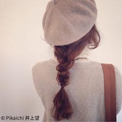 編み込み ロング ヘアアレンジ ショート ヘアスタイルや髪型の写真・画像