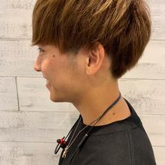 メンズ モテ髪 ナチュラル ショート ヘアスタイルや髪型の写真・画像