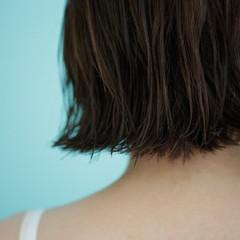 色気 外ハネ ボブ 切りっぱなし ヘアスタイルや髪型の写真・画像