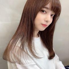 ヘアスタイル 縮毛矯正 ロングヘア ロング ヘアスタイルや髪型の写真・画像
