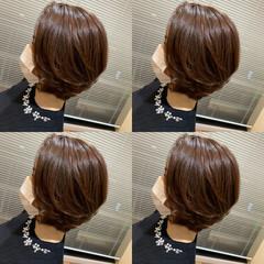 レイヤースタイル 小顔ショート ナチュラル レイヤーカット ヘアスタイルや髪型の写真・画像