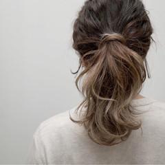 ストリート グラデーションカラー ダブルカラー 外国人風 ヘアスタイルや髪型の写真・画像