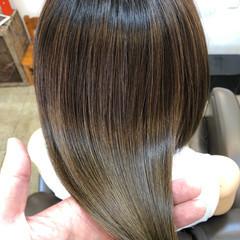 ボブ 美髪 ナチュラル 小顔ヘア ヘアスタイルや髪型の写真・画像