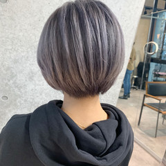 ベリーショート ショートヘア モード ミニボブ ヘアスタイルや髪型の写真・画像
