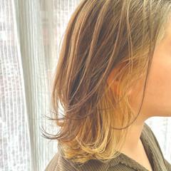 モード 透明感カラー 外国人風カラー ミルクティーベージュ ヘアスタイルや髪型の写真・画像