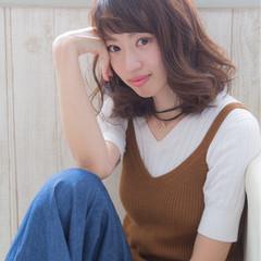色気 ピュア 秋 ボブ ヘアスタイルや髪型の写真・画像