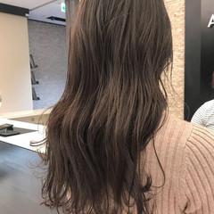 ゆるふわ 秋 透明感 ナチュラル ヘアスタイルや髪型の写真・画像