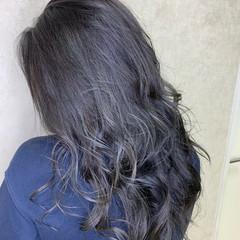ラベンダーグレージュ 透明感 アッシュグレージュ グレージュ ヘアスタイルや髪型の写真・画像
