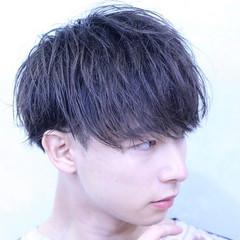 メンズマッシュ ショートヘア ゆるナチュラル メンズカラー ヘアスタイルや髪型の写真・画像