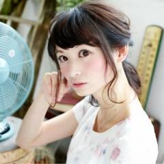モテ髪 大人かわいい ゆるふわ ヘアアレンジ ヘアスタイルや髪型の写真・画像