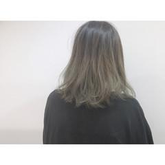 ミディアム 大人かわいい ショートバング 外国人風 ヘアスタイルや髪型の写真・画像