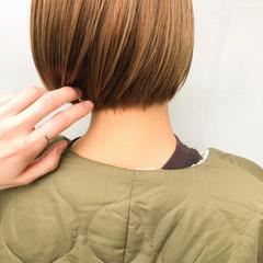 ナチュラル マッシュショート マッシュヘア ショートヘア ヘアスタイルや髪型の写真・画像