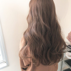 ヘアアレンジ ベージュ デート ナチュラル ヘアスタイルや髪型の写真・画像