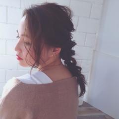 フェミニン ニュアンス 大人女子 ヘアアレンジ ヘアスタイルや髪型の写真・画像