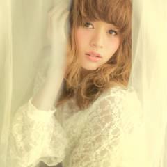 大人かわいい コンサバ モテ髪 卵型 ヘアスタイルや髪型の写真・画像