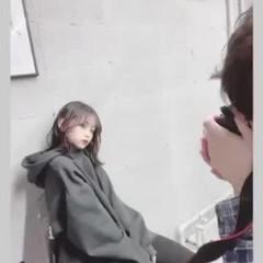 ナチュラル可愛い 学生 撮影 ナチュラル ヘアスタイルや髪型の写真・画像