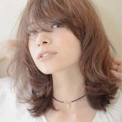 大人女子 パーマ ヘアアレンジ ナチュラル ヘアスタイルや髪型の写真・画像