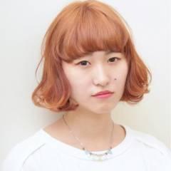 ナチュラル 丸顔 ストリート 卵型 ヘアスタイルや髪型の写真・画像
