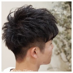 メンズマッシュ メンズカット ショート メンズヘア ヘアスタイルや髪型の写真・画像