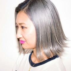 ボブ 外国人風 冬 色気 ヘアスタイルや髪型の写真・画像