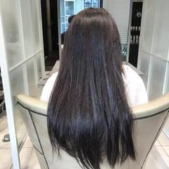 艶髪 ロング トリートメント ナチュラル ヘアスタイルや髪型の写真・画像