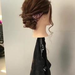 ヘアアレンジ シニヨン ショート ロング ヘアスタイルや髪型の写真・画像