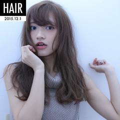大人かわいい ナチュラル フェミニン ストレート ヘアスタイルや髪型の写真・画像
